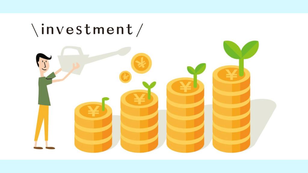 積み立て投資を表現したイラスト