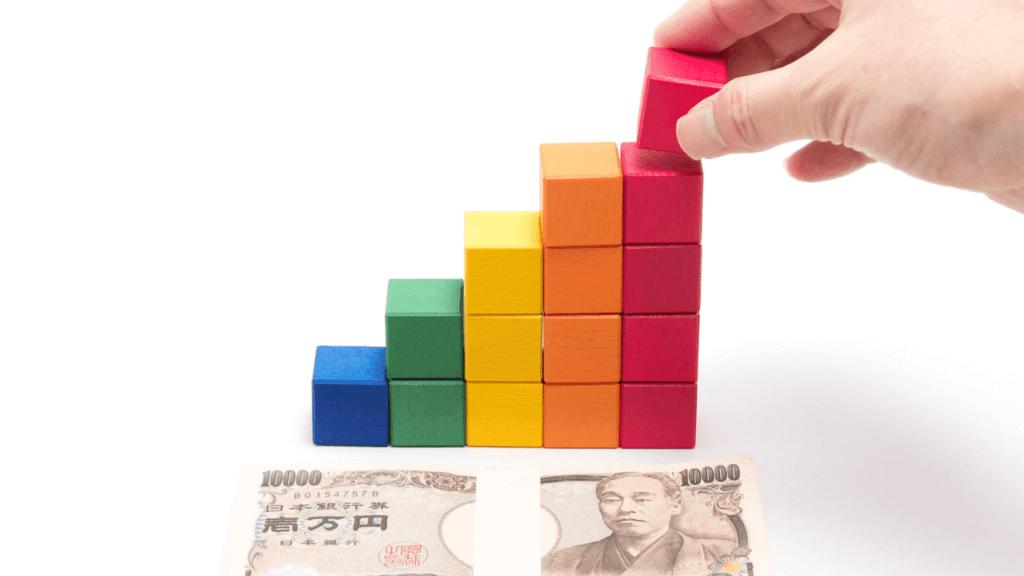積立投資の模型