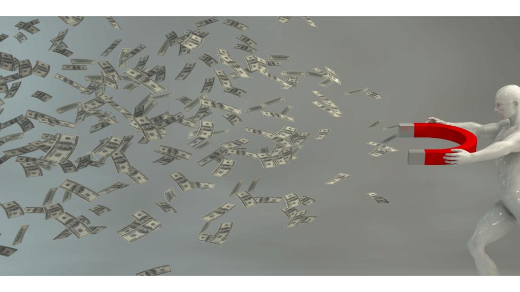 AIが投資をするイメージ画像